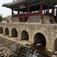 Photo taken at Hwaseong Fortress by Daniel L. on 4/29/2012
