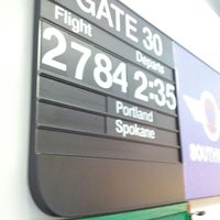 Photo taken at Gate 30 by Peter H. on 2/21/2012