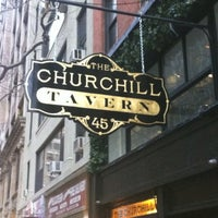 Photo taken at The Churchill by Sinead N. on 3/29/2012