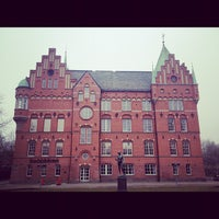 Photo taken at Malmö Stadsbibliotek by Sean D. on 3/24/2012