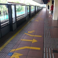 Photo taken at Bukit Gombak MRT Station (NS3) by Khairul H. on 7/15/2012