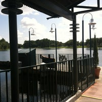Photo taken at Friendship Boat Dock - Disney's Hollywood Studios by Ursula H. on 7/28/2012