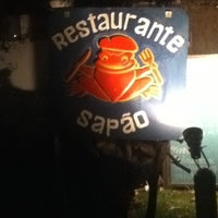 Photo taken at Restaurante do Sapão by Max on 8/23/2012