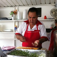 Photo taken at Tacos Charlie by Rodrigo V. on 5/5/2012