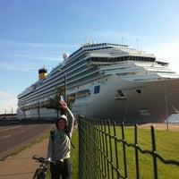 Photo taken at M/S ROMANTIKA | Tallink Ferry by Евгений М. on 8/17/2012