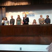 Photo taken at Universidade Católica de Pelotas (UCPel) by Fabricio Z. on 2/24/2012