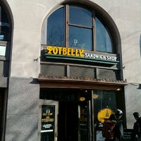 Photo taken at Potbelly Sandwich Shop by Ray D. on 2/20/2012