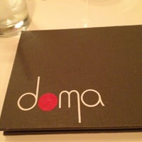 Photo taken at Doma Sushi by Nicole S. on 3/25/2012
