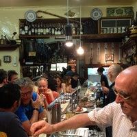7/12/2012 tarihinde Stuart M.ziyaretçi tarafından El Xampanyet'de çekilen fotoğraf