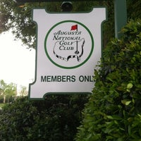 Photo taken at Augusta National Golf Club by Ryan H. on 3/30/2012