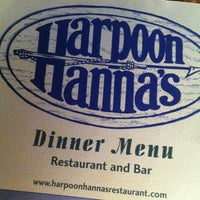 Photo taken at Harpoon Hanna's by Jerry H. on 3/16/2012