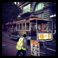 Photo taken at Powell Street Cable Car Turnaround by Yousuke M. on 6/16/2012