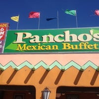 Photo taken at Pancho's Mexican Buffet by Brad S. on 3/26/2012
