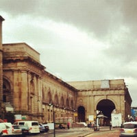Photo taken at Newcastle Central Railway Station (NCL) by Steve K. on 4/21/2012