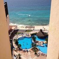 Photo taken at El Cozumeleño Beach Resort by Jeff K. on 7/30/2012
