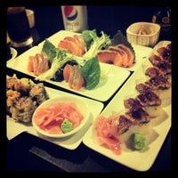 Photo taken at The Sushi Bar 1 by Louis T. on 4/2/2012