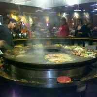 Photo taken at HuHot Mongolian Grill by Justin T. on 2/29/2012
