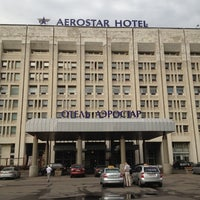 Photo taken at Aerostar Hotel Moscow by Aleksey E. on 7/11/2012