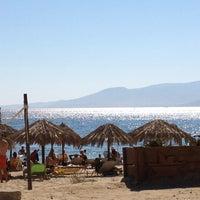 Photo taken at Plaka Beach by Sofaki . on 8/6/2012