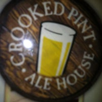 Photo taken at Crooked Pint Ale House by Kenneth on 2/15/2012