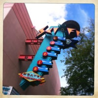 Photo taken at Sci-Fi Dine-In Theater by Staci S. on 3/20/2012