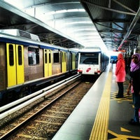 Photo taken at RapidKL Hang Tuah (ST3) LRT Station by Ee K. on 9/7/2012