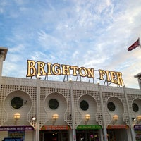 Photo taken at Brighton Palace Pier by Vidya Sagar S. on 8/31/2012