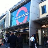 Photo taken at Brixton London Underground Station by Rhammel A. on 8/31/2012