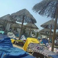 Photo taken at Santa Maria Beach by Themis⛵ G. on 8/11/2012