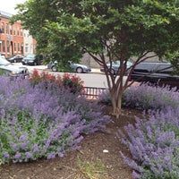 Photo taken at O'Donnell Square Park by Rebecca D. on 5/6/2012