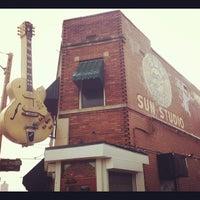 Photo taken at Sun Studio by Drew K. on 7/10/2012