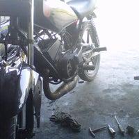Photo taken at Bengkel Cahyo Motor by Surya A. on 5/29/2012