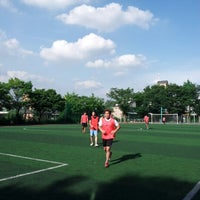 Photo taken at 방배중학교 by Ashley C. on 7/28/2012
