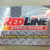 Photo taken at RedLine Speed Shine by Lisa C. on 7/21/2012