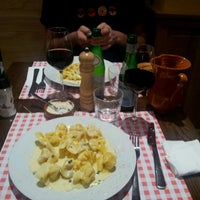 Photo taken at Trattoria Della Mamma by Vincent V. on 7/11/2012