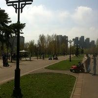Photo taken at Сквер им. Кирова by Arthur G. on 4/29/2012