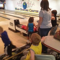 Photo taken at Main Bowling Center by Amanda B on 8/7/2012