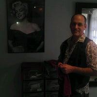 Photo taken at johnrussell salon by John G. on 4/12/2012