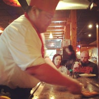 Photo taken at Tokyo Japanese Steak house by Betsabe P. on 8/16/2012