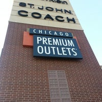 Photo taken at Chicago Premium Outlets by Steven K. on 8/29/2012
