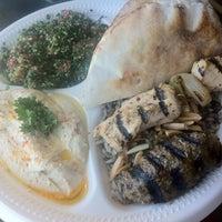 Photo taken at Nunu's Mediterranean Cafe by Carol C. on 7/21/2012