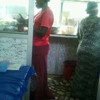 Photo taken at Hajia Special Waakye by Eric on 6/7/2012