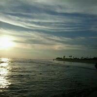 Photo taken at Pantai Panjang (Long Beach) by Hetty S. on 7/10/2012