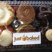 Photo taken at Just Baked by Michelle A. on 6/18/2012
