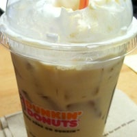Photo taken at Dunkin' Donuts by Tanya C. on 8/30/2012