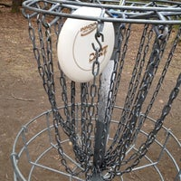 Photo taken at Borderlands State Park Disc Golf by Paul O. on 4/12/2012