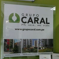 Photo taken at Grupo Caral by Alex R. on 4/27/2012