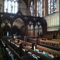 Photo taken at Desmond Tutu Center by Caroline M. on 4/8/2012