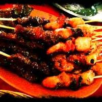 Photo taken at Nur Satay by Esther T. on 3/10/2012