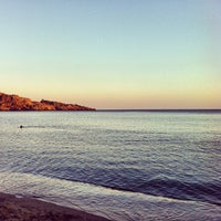 Photo taken at Damnoni by Spyros P. on 8/23/2012